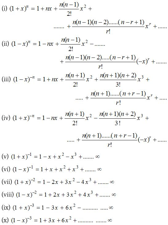 Binomial Theorem for any Index 5