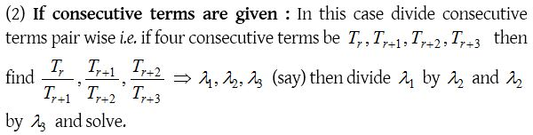 Binomial Theorem for any Index 7