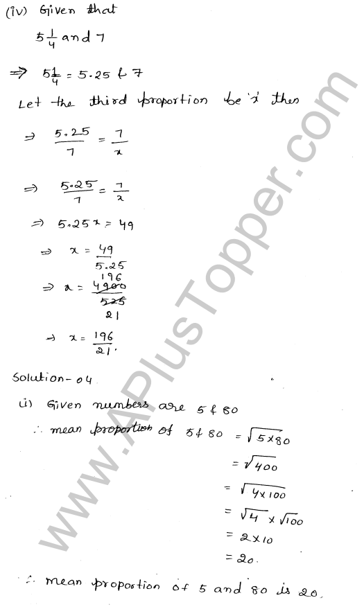 ML-Aggarwal ICSE Solutions for Class 10 Maths Ch 8 Ratios and Proportions Q1.13