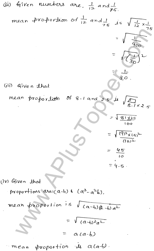 ML-Aggarwal ICSE Solutions for Class 10 Maths Ch 8 Ratios and Proportions Q1.14
