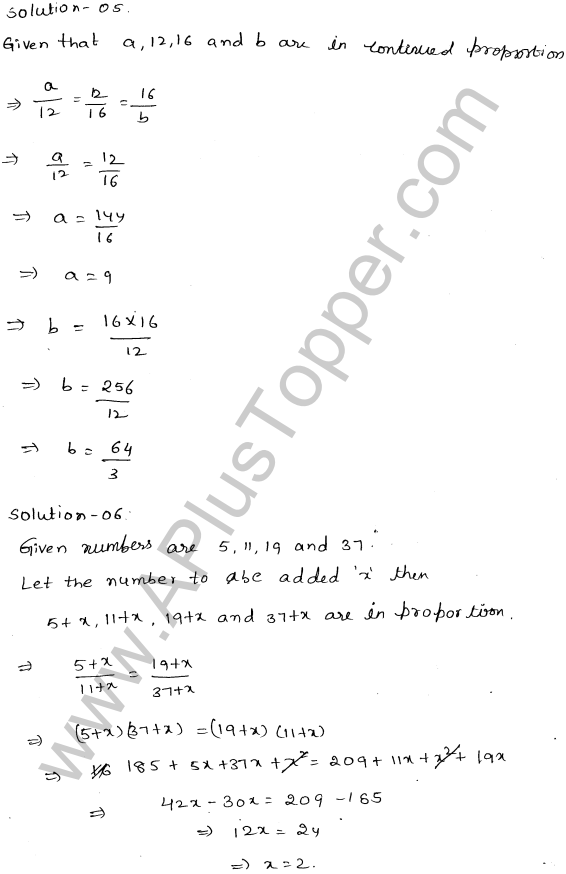 ML-Aggarwal ICSE Solutions for Class 10 Maths Ch 8 Ratios and Proportions Q1.15