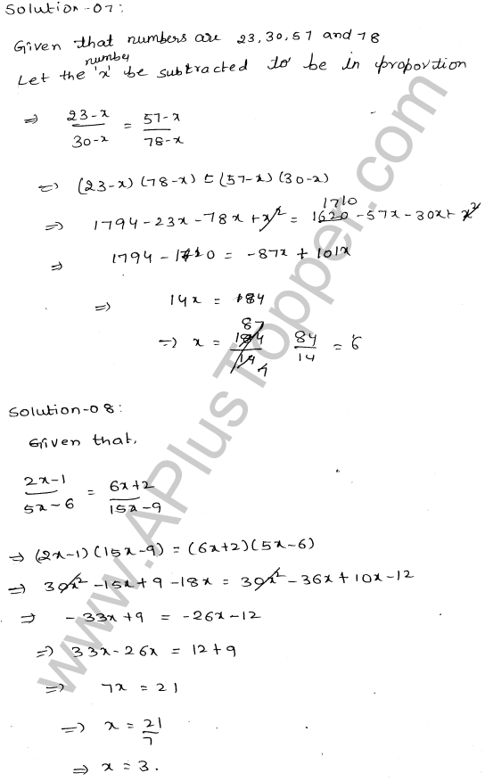 ML-Aggarwal ICSE Solutions for Class 10 Maths Ch 8 Ratios and Proportions Q1.16