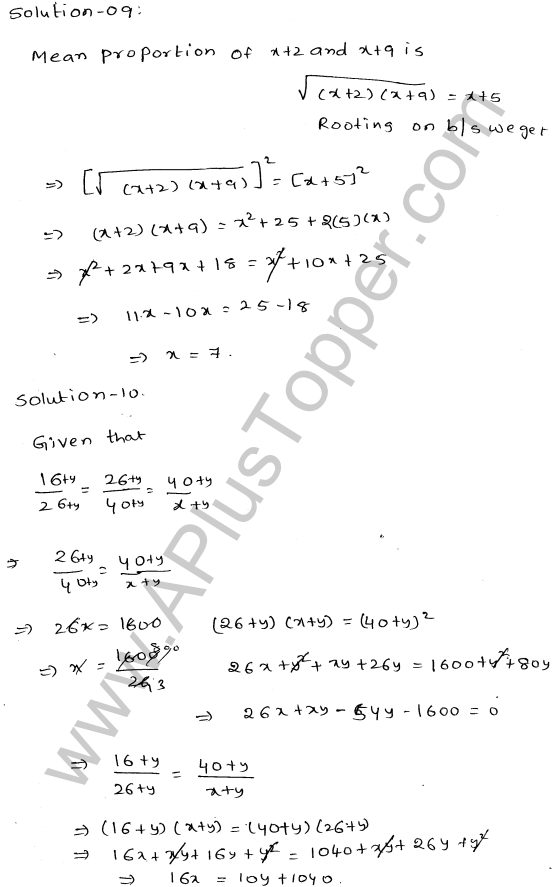 ML-Aggarwal ICSE Solutions for Class 10 Maths Ch 8 Ratios and Proportions Q1.18