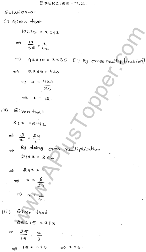 ML-Aggarwal ICSE Solutions for Class 10 Maths Ch 8 Ratios and Proportions Q1.9