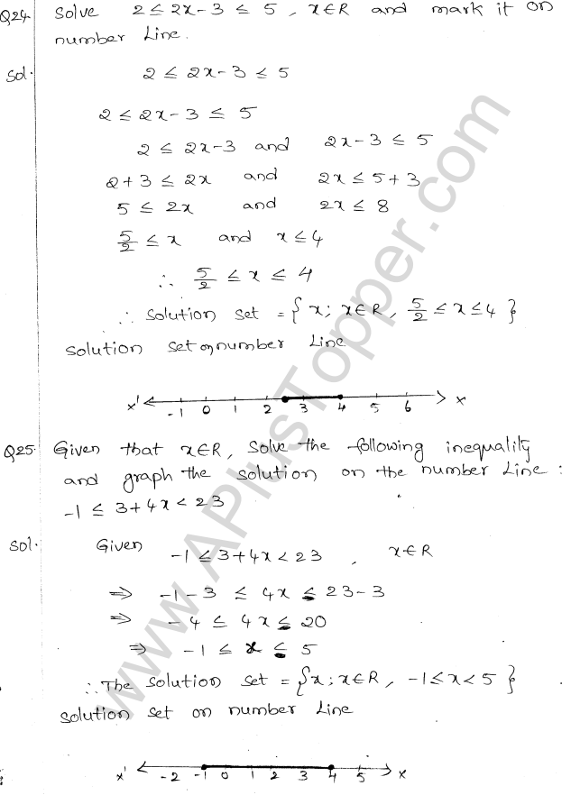 ML Aggarwal ICSE Solutions for Class 10 Maths Chapter 5 Linear Inequations Q1.12