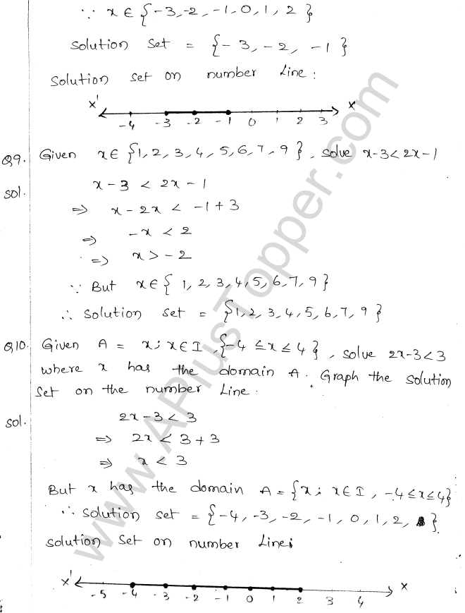 ML Aggarwal ICSE Solutions for Class 10 Maths Chapter 5 Linear Inequations Q1.4