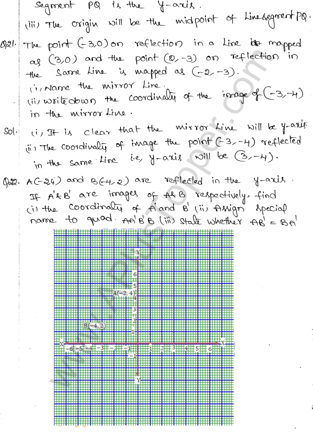 ML Aggarwal ICSE Solutions for Class 10 Maths Chapter 10 Reflection Q1.11