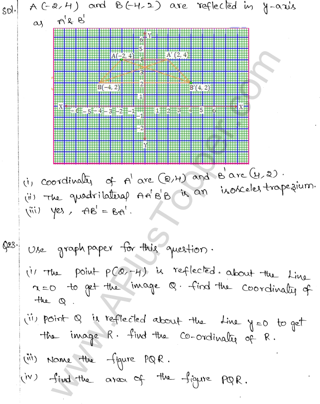 ML Aggarwal ICSE Solutions for Class 10 Maths Chapter 10 Reflection Q1.12