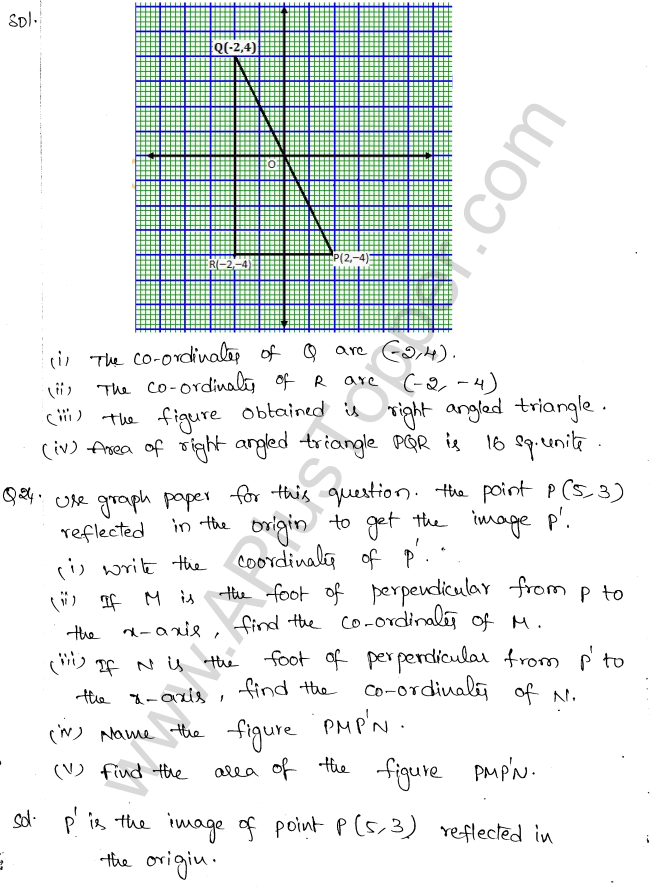 ML Aggarwal ICSE Solutions for Class 10 Maths Chapter 10 Reflection Q1.13