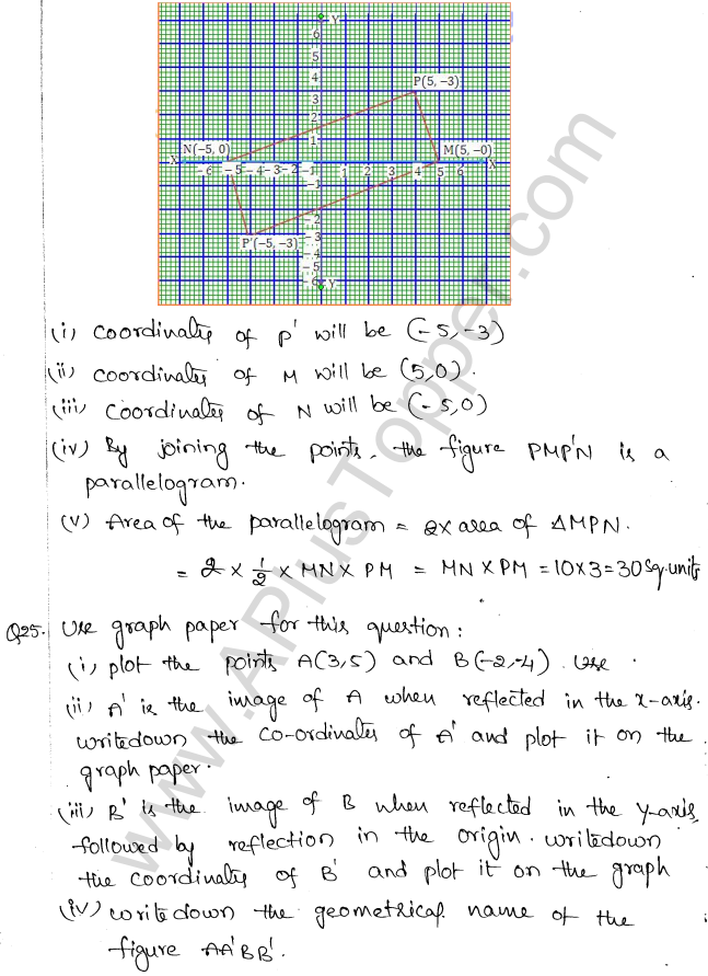 ML Aggarwal ICSE Solutions for Class 10 Maths Chapter 10 Reflection Q1.14
