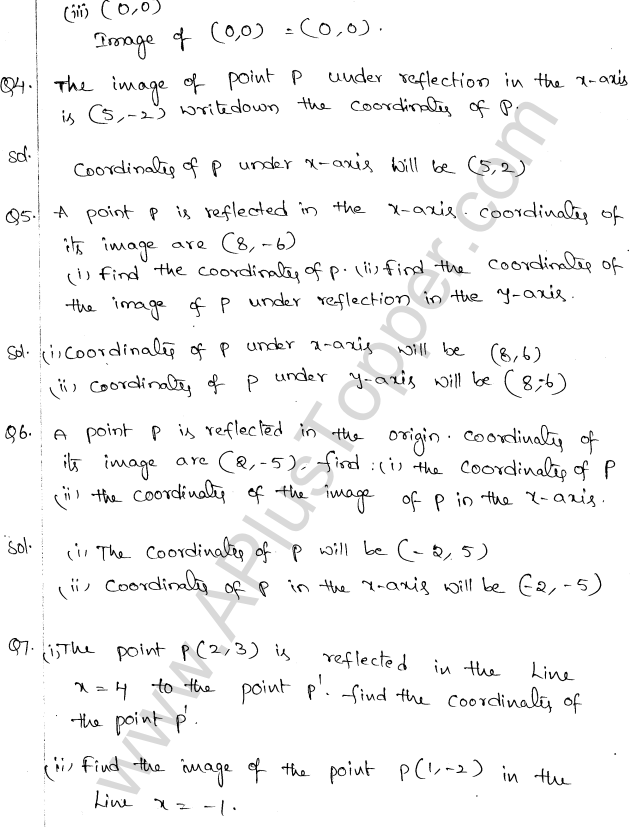 ML Aggarwal ICSE Solutions for Class 10 Maths Chapter 10 Reflection Q1.2