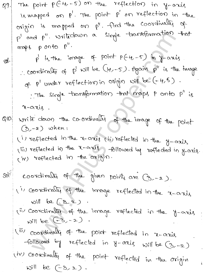 ML Aggarwal ICSE Solutions for Class 10 Maths Chapter 10 Reflection Q1.5
