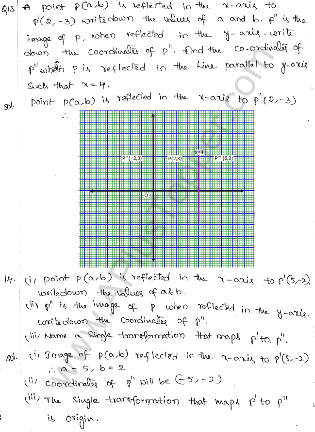 ML Aggarwal ICSE Solutions for Class 10 Maths Chapter 10 Reflection Q1.7