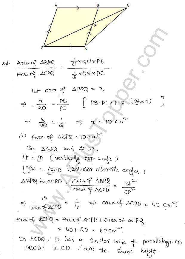 ML Aggarwal ICSE Solutions for Class 10 Maths Chapter 14 Similarity Q1.14