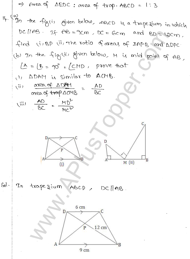 ML Aggarwal ICSE Solutions for Class 10 Maths Chapter 14 Similarity Q1.17