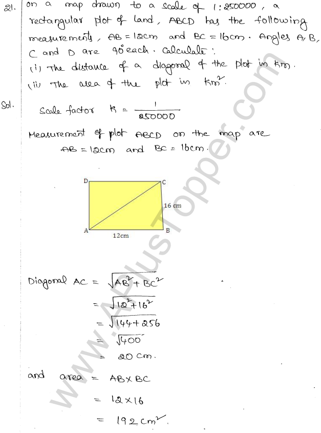ML Aggarwal ICSE Solutions for Class 10 Maths Chapter 14 Similarity Q1.24