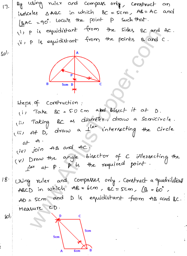 ML Aggarwal ICSE Solutions for Class 10 Maths Chapter 15 Locus Q1.20