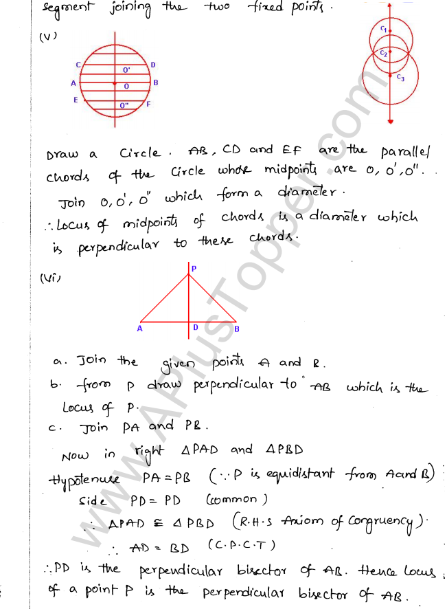 ML Aggarwal ICSE Solutions for Class 10 Maths Chapter 15 Locus Q1.6