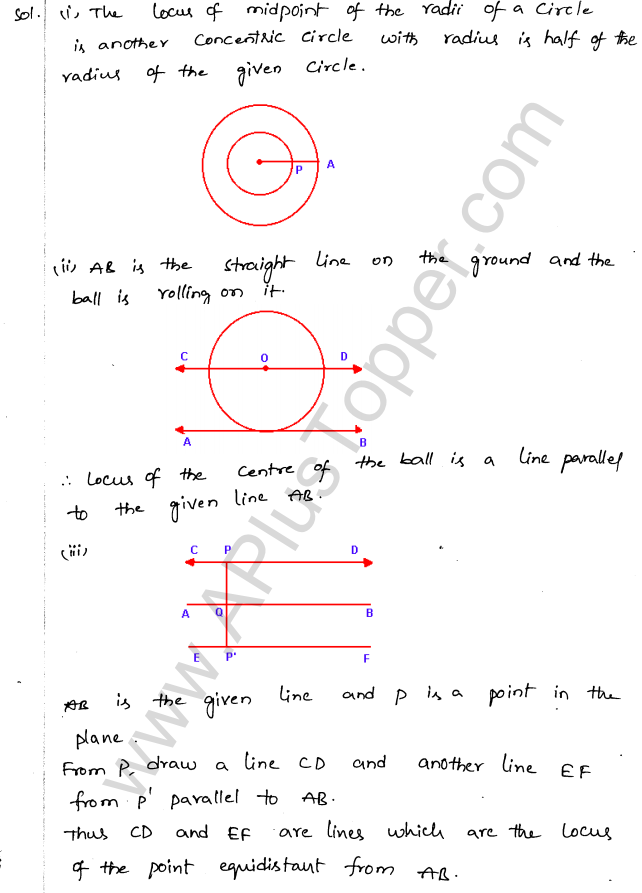ML Aggarwal ICSE Solutions for Class 10 Maths Chapter 15 Locus Q1.8