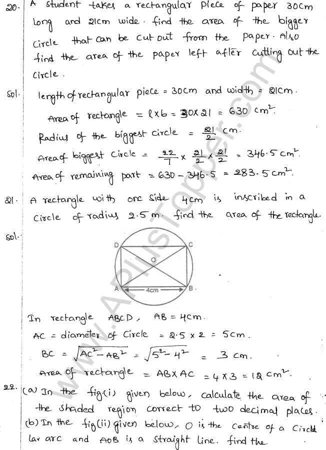 ML Aggarwal ICSE Solutions for Class 10 Maths Chapter 18 Mensuration Q1.12