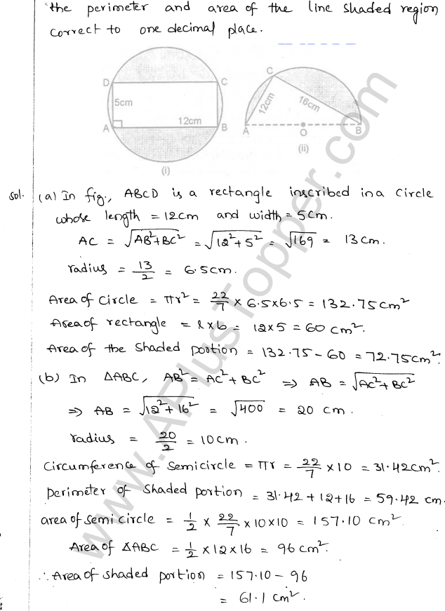 ML Aggarwal ICSE Solutions for Class 10 Maths Chapter 18 Mensuration Q1.13