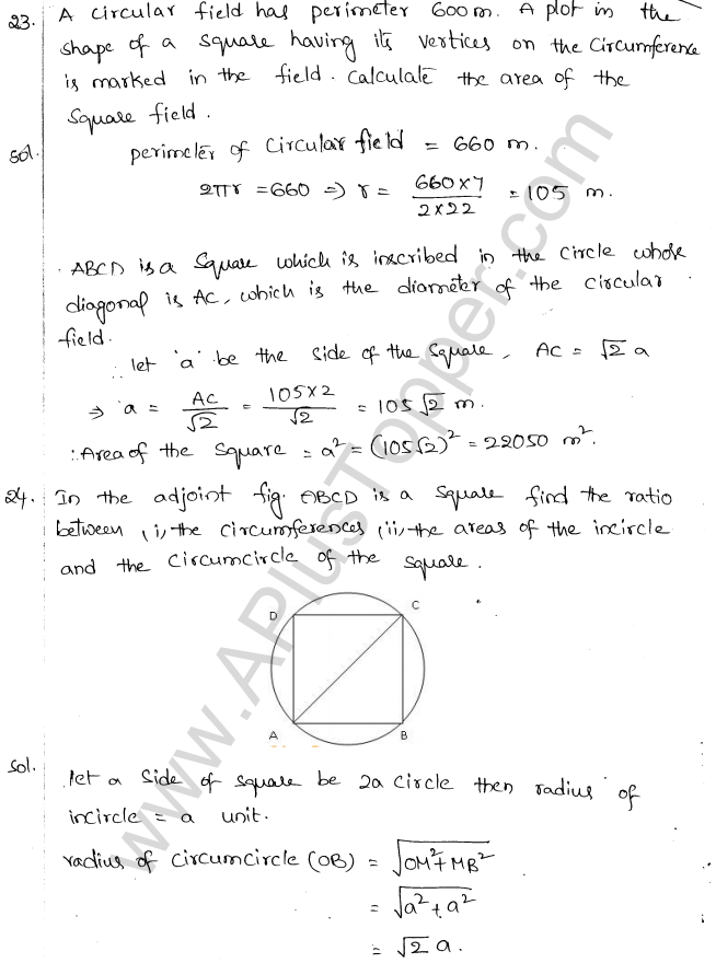 ML Aggarwal ICSE Solutions for Class 10 Maths Chapter 18 Mensuration Q1.14