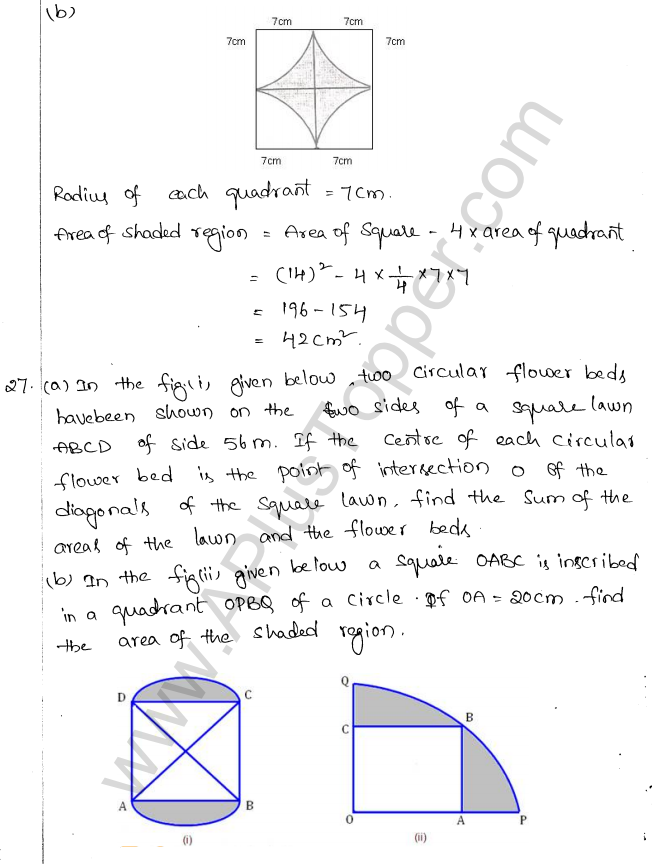 ML Aggarwal ICSE Solutions for Class 10 Maths Chapter 18 Mensuration Q1.18