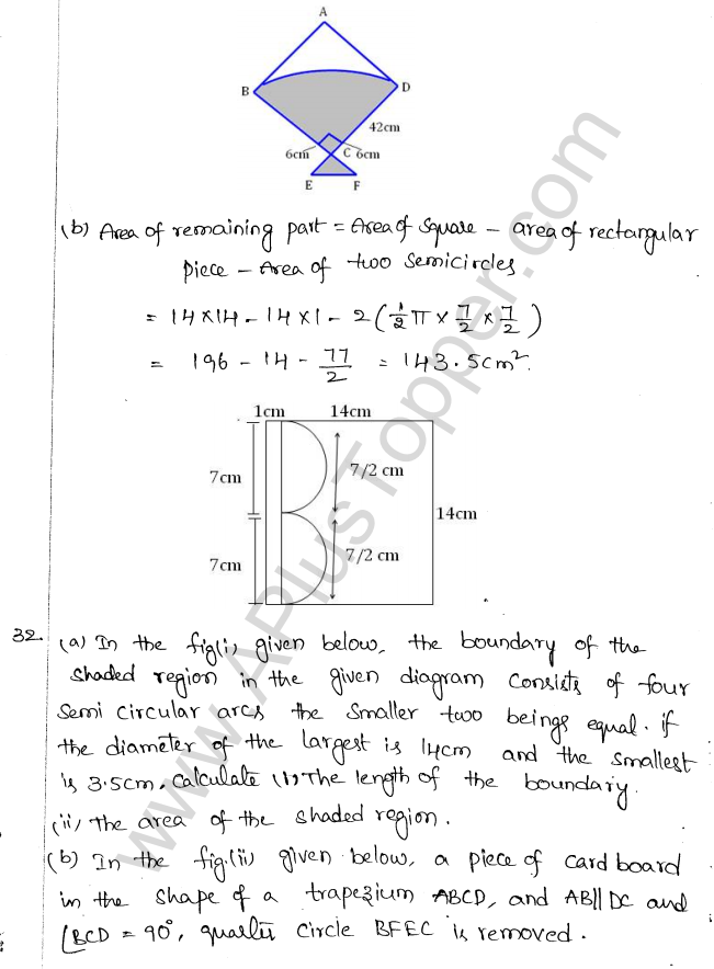 ML Aggarwal ICSE Solutions for Class 10 Maths Chapter 18 Mensuration Q1.25