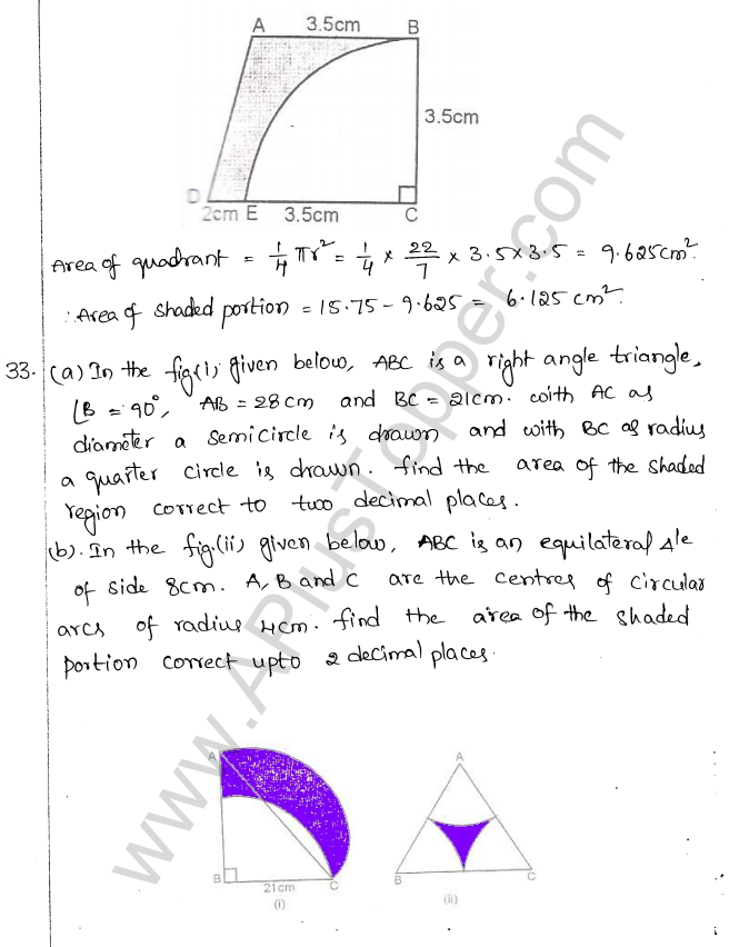 ML Aggarwal ICSE Solutions for Class 10 Maths Chapter 18 Mensuration Q1.27