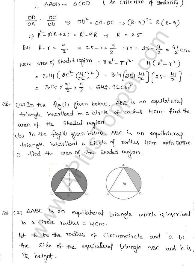 ML Aggarwal ICSE Solutions for Class 10 Maths Chapter 18 Mensuration Q1.31