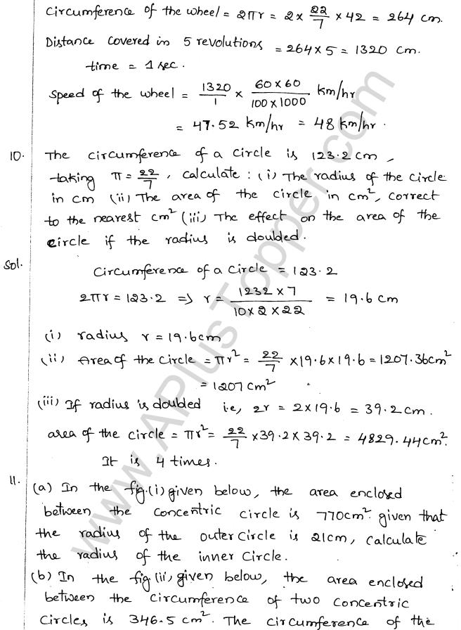 ML Aggarwal ICSE Solutions for Class 10 Maths Chapter 18 Mensuration Q1.4