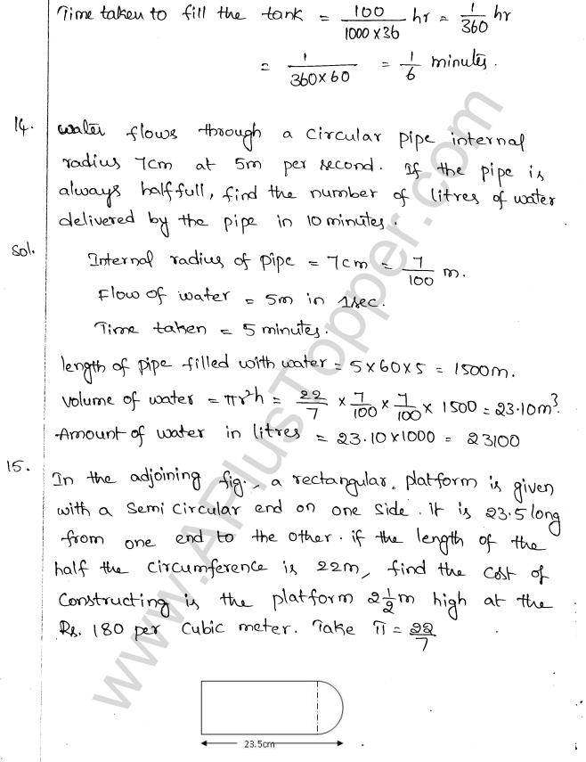 ML Aggarwal ICSE Solutions for Class 10 Maths Chapter 18 Mensuration Q1.41