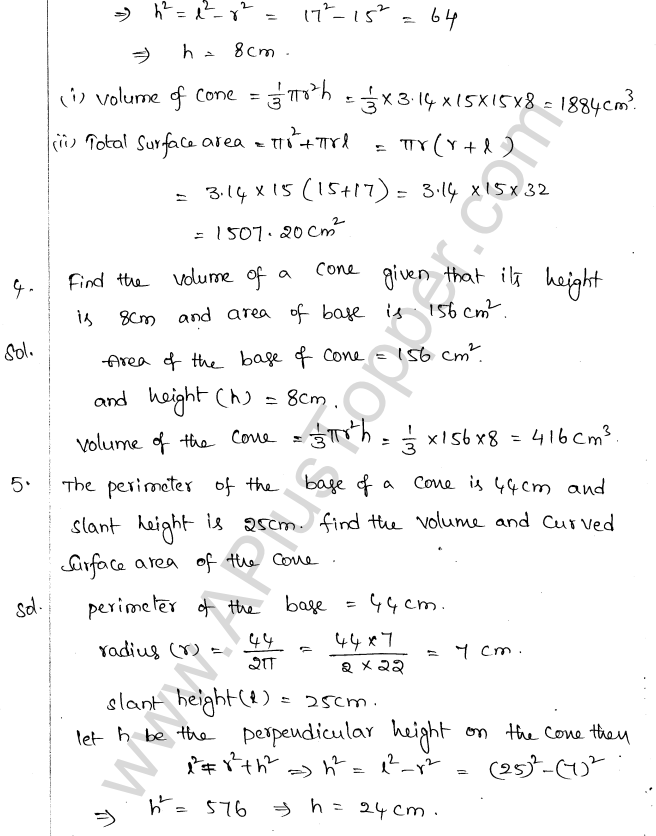 ML Aggarwal ICSE Solutions for Class 10 Maths Chapter 18 Mensuration Q1.44