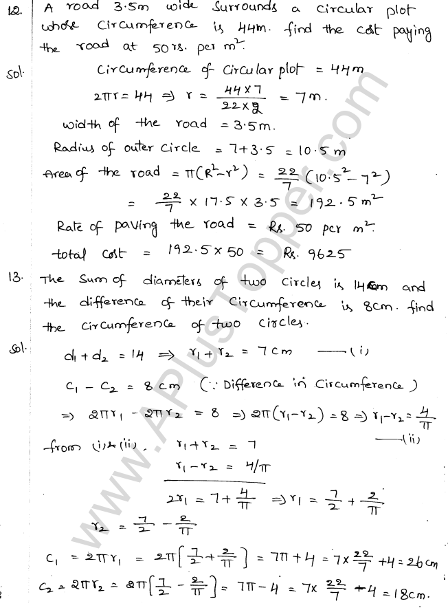 ML Aggarwal ICSE Solutions for Class 10 Maths Chapter 18 Mensuration Q1.6