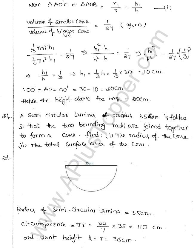 ML Aggarwal ICSE Solutions for Class 10 Maths Chapter 18 Mensuration Q1.60