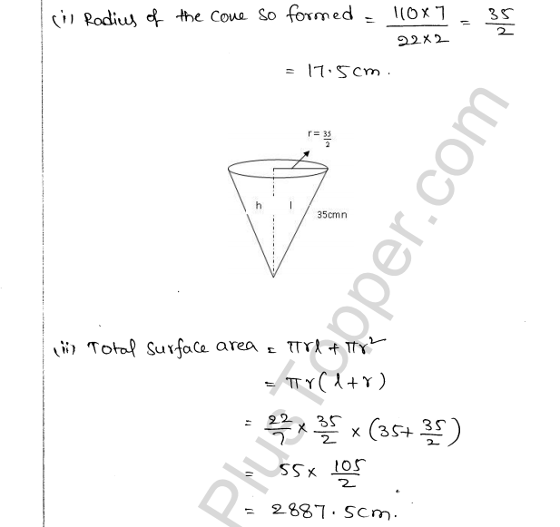 ML Aggarwal ICSE Solutions for Class 10 Maths Chapter 18 Mensuration Q1.61