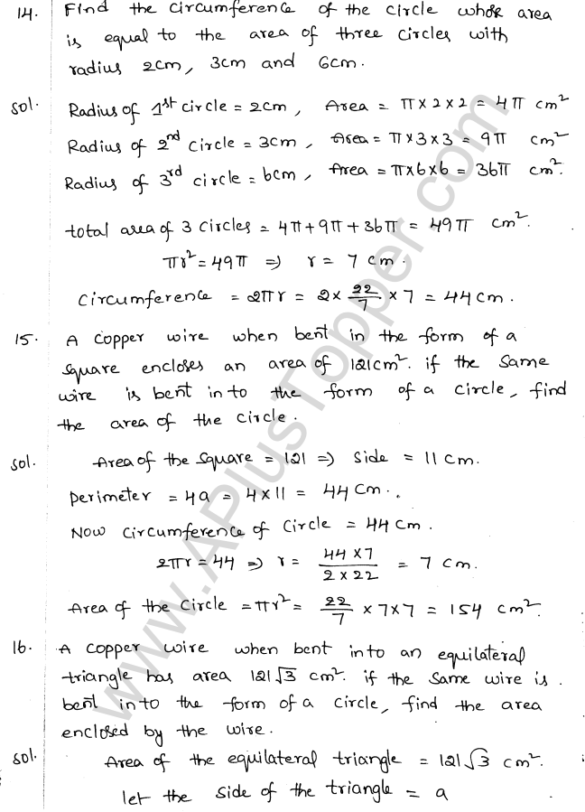 ML Aggarwal ICSE Solutions for Class 10 Maths Chapter 18 Mensuration Q1.7