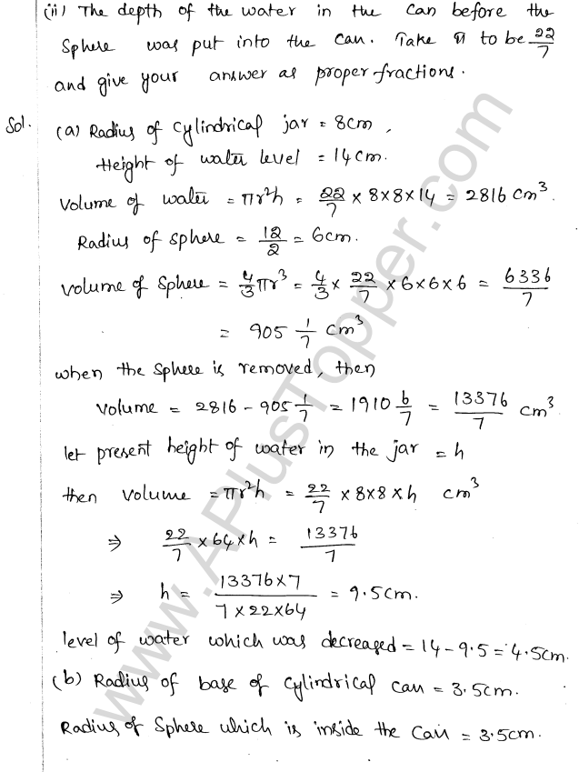 ML Aggarwal ICSE Solutions for Class 10 Maths Chapter 18 Mensuration Q1.70