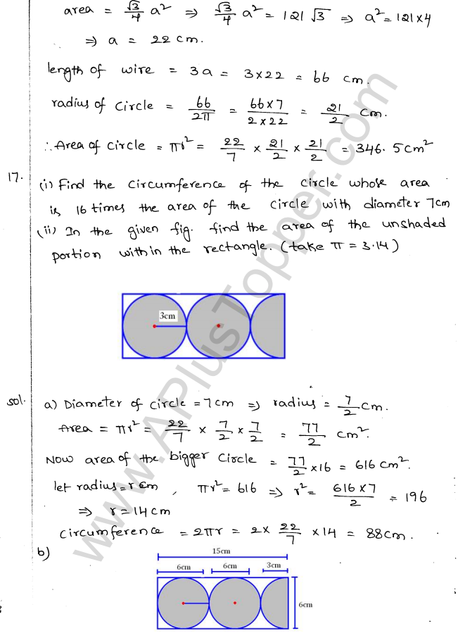 ML Aggarwal ICSE Solutions for Class 10 Maths Chapter 18 Mensuration Q1.8