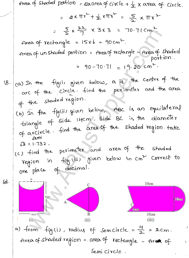ML Aggarwal ICSE Solutions for Class 10 Maths Chapter 18 Mensuration Q1.9