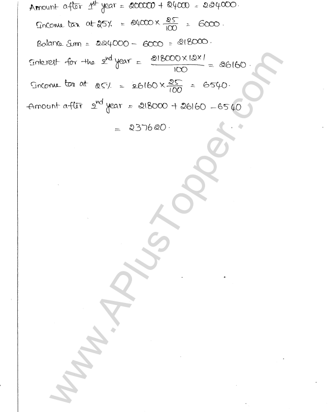 ML Aggarwal ICSE Solutions for Class 10 Maths Chapter 1 Compound Interest Q1.9