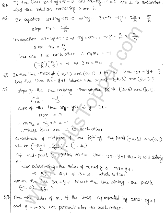 ML Aggarwal ICSE Solutions for Class 10 Maths Chapter 12 Equation of a Straight Line Q1.18