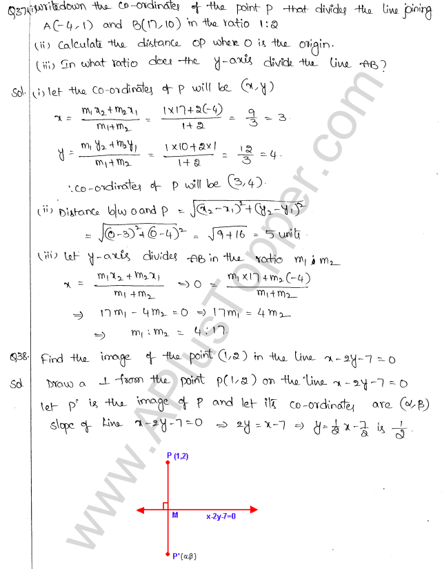 ML Aggarwal ICSE Solutions for Class 10 Maths Chapter 12 Equation of a Straight Line Q1.32