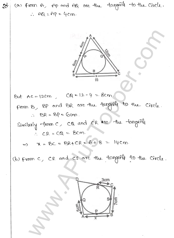 ML Aggarwal ICSE Solutions for Class 10 Maths Chapter 16 Circles Q1.80