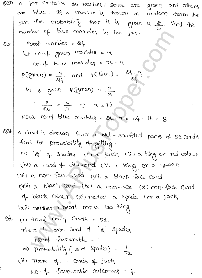 ML Aggarwal ICSE Solutions for Class 10 Maths Chapter 24 Probability Q1.18