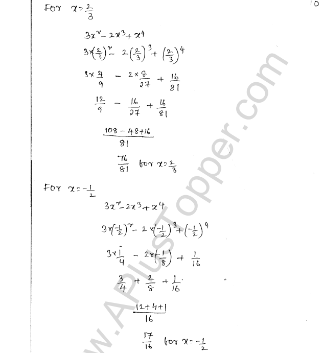 ML Aggarwal ICSE Solutions for Class 8 Maths Chapter 10 Algebraic Expressions and Identities 10