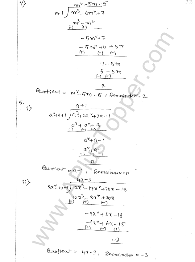 ML Aggarwal ICSE Solutions for Class 8 Maths Chapter 10 Algebraic Expressions and Identities 23
