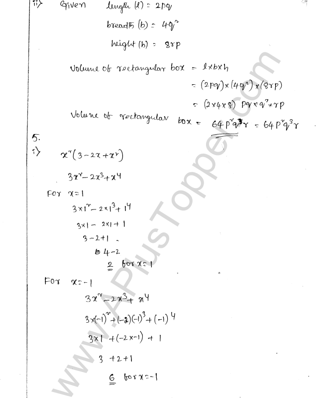 ML Aggarwal ICSE Solutions for Class 8 Maths Chapter 10 Algebraic Expressions and Identities 9