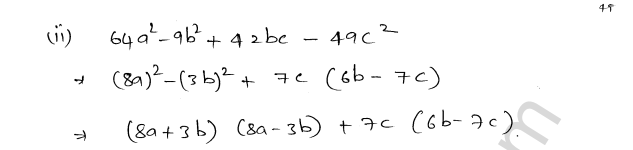 ML Aggarwal ICSE Solutions for Class 8 Maths Chapter 11 Factorisation 19