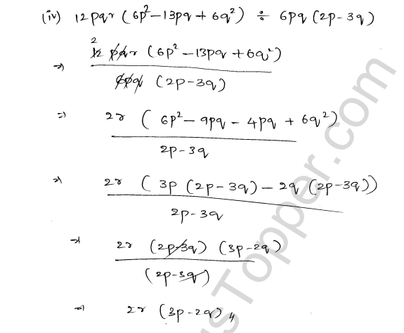 ML Aggarwal ICSE Solutions for Class 8 Maths Chapter 11 Factorisation 29